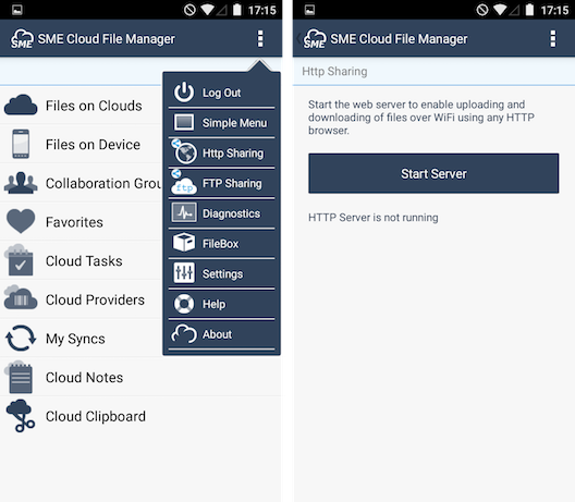 Enterprise File Fabric for Android - Storage Made Easy® Documentation